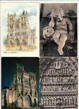 Lot 4 cartes postales SOMME AMIENS 2