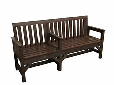 SEAT BENCH GARDEN BALERACRIC EASY ACCESS 3 SEATER 100% RECYCLED PLASTIC