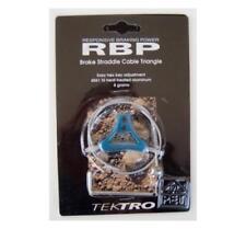 Tektro triangles cablehanger para cantileverbremse, + querzug, turquesa-azul, nos