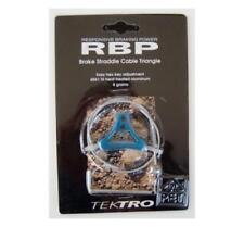 Tektro Triangles Cablehanger für Cantileverbremse, +Querzug, türkis-blau, NOS