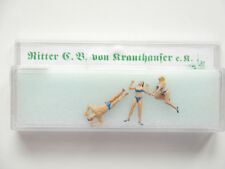 Set: stripper table dance bar sexy, Ritter von krauthauser #87135 1:87 h0 Boxed