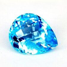 TOP BIG TOPAZ  : 39,16 Ct Natürlicher Blau Topas aus Brasilien
