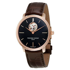 Frederique Constant Slimline Auto Heart Beat Mens Watch FC-312G4S4