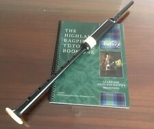 Bagpipe Learners Package - Standard PC3 Practice Chanter, Tutor Book and Videos