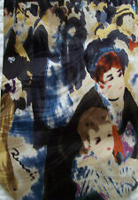 Museum Artifacts All-Silk Neck Tie Renoir The Ball at Moulin Rouge MSRP $42.50