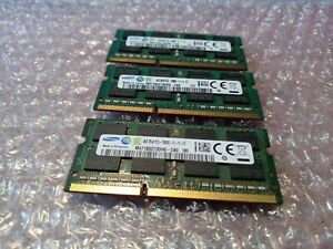 SAMSUNG 4GB 2Rx8 PC3L - 12800S SODIMM (Lots of 3) PC3/PC3L WITH 30 DAY WARRANTY!