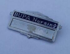 More details for old hospital badge ' bupa nursing '