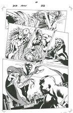 DAREDEVIL Annual #1 page 22 Alan Davis Original Art DR STRANGE 1/2 Splash 2012