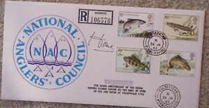 FDC MP Signed x 2 Sir Alec Douglas-Home, National Anglers, 26 Jan 83
