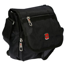 Men's Bag With Flap Shoulder Bag Messenger Bag Black