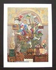 "James Christensen Limited Edition Print ""Balancing Act"" Excellent Condition"