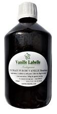 Extrait Naturel de Vanille Bourbon de Madagascar 500 mL, 300g de gousses au kilo