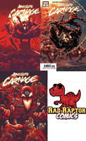 Absolute Carnage 1 2 3 Lot Cates Stegman Venom Marvel 2019