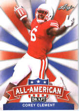 2017 Leaf Draft Football All-American #AA-05 Corey Clement