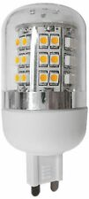 KIT 5 LAMPADE A LED ATTACCO G9 3,5W LUCE BIANCA 3000K D. 31MM L.66MM 48LED SMD