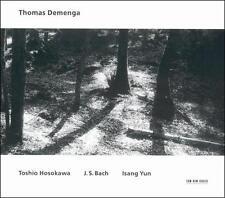 HOSOKAWA BACH YUN Cello Recital CD Demenga Holliger Anzellotti Larcher