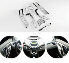 Chrome Interior Molding Trim Cover for 11-13 Hyundai Elantra w/ Tracking No.