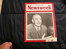 Newsweek Magazine January 17, 1949  Acheson