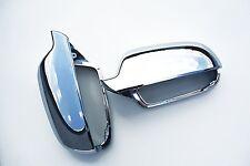 AUDI A4 S4 RS4 8K B8 Cromato Specchietto Laterale Porta COPERCHI COPERCHIO Trim caso CASE S-LINE