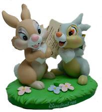 Disney Figur Disneyland Paris Bambi Klopfer und Miss Bunny