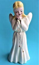 """Vintage Florence Ceramic Angel Figurine 7"""""""
