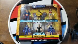 DC Universe Infinite OMAC ATTACK NEW Maxwell Lord Booster Gold Wonder Woman MORE