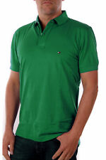 Tommy Hilfiger Polo Uomo Tommy Regolare Polo Regular Fit Verde