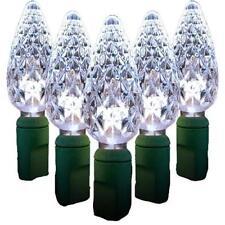 Décorations lumineuses de Noël blanc Queens pour la maison