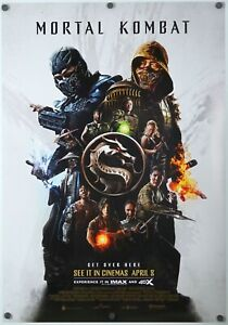 Mortal Kombat - original DS movie poster 27x40 D/S - INTL FINAL  2021