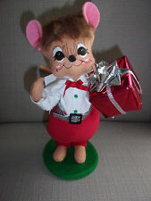 NWT ANNALEE DOLL SILVER SPARKLE BOY 6 INCH MOUSE 2013