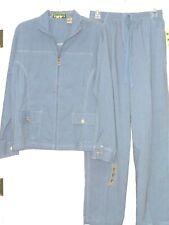 *Palm Grove Women'S Pants & Shirt Jacket Size S-M Blue Lightweight Nwt