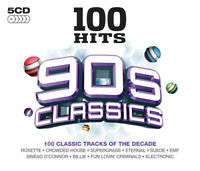 Various Artists : 100 Hits: 90s Classics CD 5 discs (2013) Fast and FREE P & P