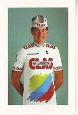 CYCLISME carte cycliste XAVIER DUCH BALLESTAR équipe CLAS 1989