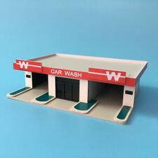Outland Models Railway Scenery Layout car wash Building White Wall N Scale 1:160
