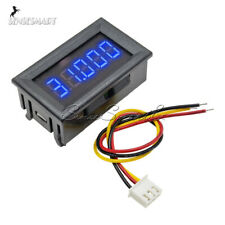 """Digital 0.36"""" 5 Digit LED Voltage Meter DC0-33.000V Voltmeter Car Panel Volt AMP"""