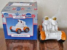 """Moon / Lunar Rover & Astronauts"" w/ Box * Salt and Pepper Shakers *Enesco *Mint"