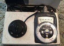 Leitz/Gossen Microsix L Microscope Exposure Meter In Original Case