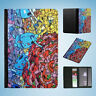 GRAFFITI WALL ART #5 FLIP PASSPORT WALLET ORGANIZER COVER HOLDER