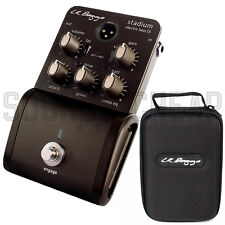 New! LR Baggs Stadium Electric Bass Direct Box DI Effect Pedal w/ Carrying Case