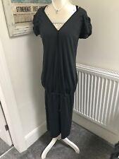 Marithe Francois Girbaud Fabulous Dress Size I42 F38 Uk 10 Grey