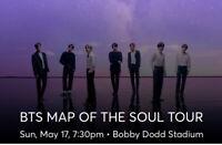 2 tickets for BTS in Atlanta