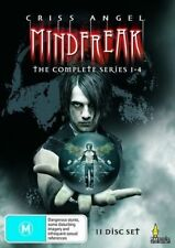 Criss Angel Mindfreak Season 1 + 2 + 3 + 4 DVD BRAND NEW SEALED