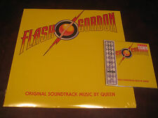 QUEEN FLASH GORDON 180 GRAM HOLLYWOOD RECORDS 2008 LP & JAPAN REPLICA RARE CD