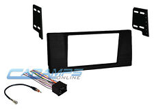 E39 NEW DOUBLE DIN CAR STEREO RADIO MOUNTING DASH INSTALL KIT WIRING HARNESS