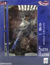 Used Megahouse G.E.M Series Rurouni Kenshin Saito Hajime PAINTED