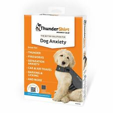 Thundershirt Anxiety Coat for Dog, XL, Grey