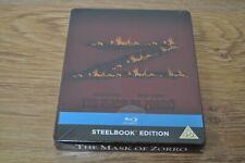THE MASK OF ZORRO (Blu-ray Steelbook)Zavvi Exclusive