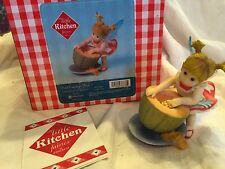"""My Little Kitchen Fairies """"SWEET CANTALOUPE FAIRIE"""" 2011 NIB"""