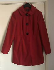 George Red Winter Coat - Size 14