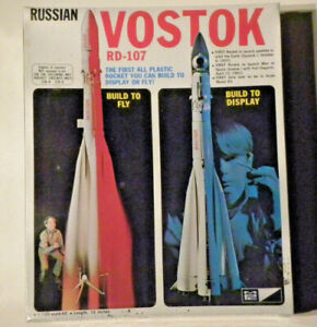 MPC Russian VOSTOK RD-107, Kit 9000, 1/100 Scale, Display or Launch, UNOPENED